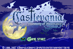 [Game Boy Advance] Castlevania - Harmony of Dissonance (Disco Voador Romhacking)