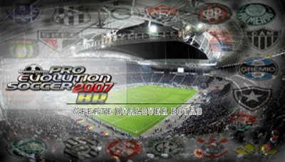 [PlayStation Portable] Winning Eleven - Pro Evolution Soccer - Brasileirão 2007 (Planeta PSP Group)